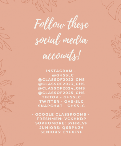 Use the following accounts and codes for all the latest information about StuCo elections.